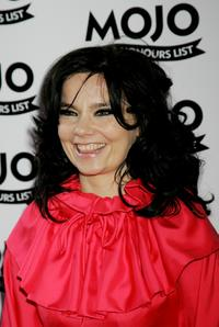 Bjork at the MOJO Honours List Awards.