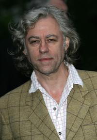 Bob Geldof at the Sir David Frosts Summer Party.