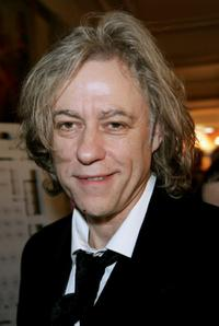 Bob Geldof at the Cinema for Peace Charity Gala.