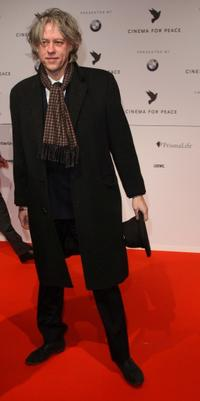 Bob Geldof at the Cinema For Peace Berlin 2009 during the 59th Berlin International Film Festival.