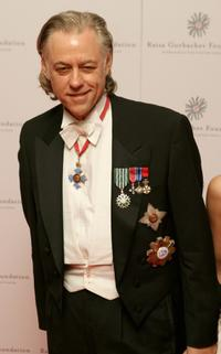Bob Geldof at the Raisa Gorbachev Foundations Second Annual Gala Dinner.