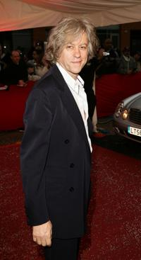 Bob Geldof at the Greatest Britons 2007 Awards.