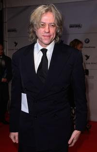 Bob Geldof at the 7th Annual Cinema For Peace Gala during the 58th Berlinale International Film Festival.