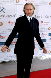 Bob Geldof at the Steiger Awards ceremony.
