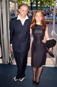 Bob Geldof and Jeanne Marine at the UK premiere of