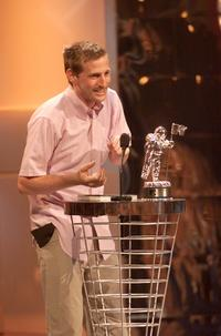 Spike Jonze at the 2001 MTV Video Music Awards.