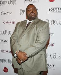 Biz Markie at the after party of the White House Correspondents' dinner.