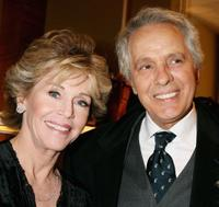 Jane Fonda and Giuliano Gemma and Violante Placido at the 2nd Rome Film Festival.