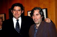 Chris Weitz and Paul Weitz at the Jack Oakie Lecture on Comedy in Film featuring Paul and Chris Weitz.