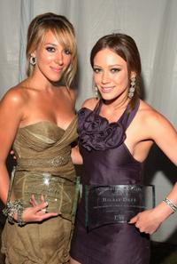 Haylie Duff and Hilary Duff at Much Love's BOW WOW WOW Animal Rescue Beneift in Bel Air, California.
