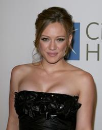 Hilary Duff at the City of Hope Spirit of Life Award dinner in Los Angeles.