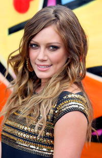 Hilary Duff at the 2007 Teen Choice Awards.