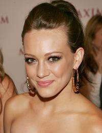 Hilary Duff at Maxim Magazine's 8th Annual Hot 100 Party.