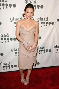 Hilary Duff at the 18th annual GLAAD Media Awards.