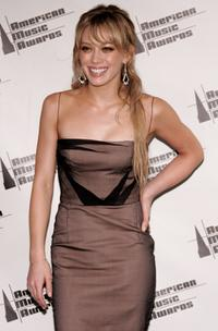 Hilary Duff at the 2005 American Music Awards.