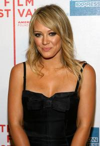 Hilary Duff at the premiere of
