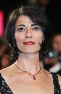 Hiam Abbass at the screening of