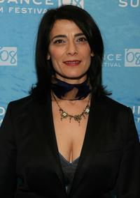 Hiam Abbass at the premiere of