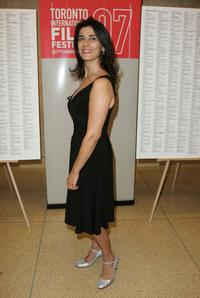 Hiam Abbass at the world premiere of