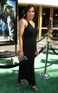 Christina Cabot at the premiere of
