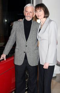 Don Adams and Barbara Feldon at the A Get Smart Reunion.