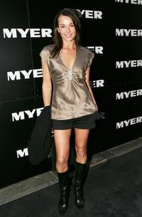 Yvette Duncan at the Myer Spring/Summer 2006 Fashion Show.