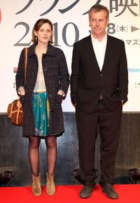 Mia Hansen-Love and Bruno Dumont at the France Film Festival 2010 Opening Ceremony.