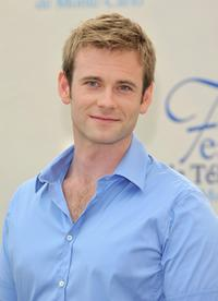 Eric Johnson at the photocall to promote the television series
