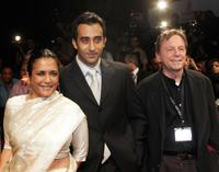 Deepa Mehta, Rahul Khanna and Guest at the opening ceremony of Dubai's first International Film Festival.