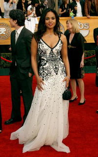 Sharon Leal at the 13th Annual Screen Actors Guild Awards in L.A.