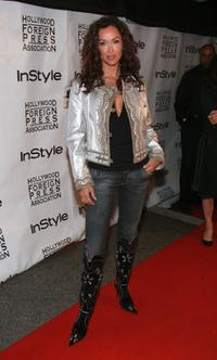 Sofia Milos at the In Style Magazine and the Hollywood Foreign Press Association Toronto International Film Festival party.