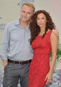 James McGowan and Sofia Milos at the 2008 Monte Carlo Television Festival.