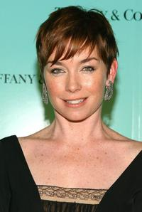 Julianne Nicholson at the launch of the 2007 Blue Book Collection at Tiffany and Co.