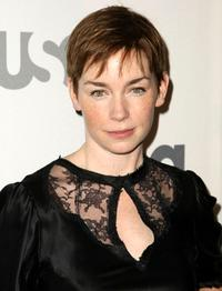 Julianne Nicholson at the USA Network Upfront.