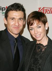 Jonathan Cake and Julianne Nicholson at the 34th International Emmy Awards Gala.