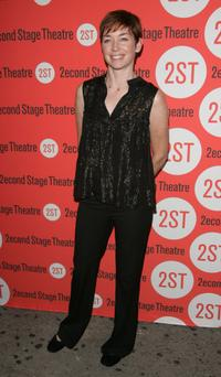 Julianne Nicholson at the opening night of the Broadway play