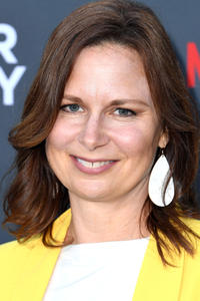 "Mary Lynn Rajskub at the LA premiere of Netflix's ""Murder Mystery""."