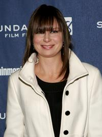 """Mary Lynn Rajskub at the premiere of """"Sunshine Cleaning""""."""