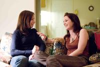 """Mary Lynn Rajskub and Emily Blunt in """"Sunshine Cleaning."""""""