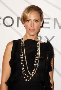 Kim Raver at the opening party for Mobile Art: CHANEL Contemporary Art Container.