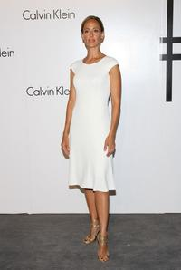 Kim Raver at the Calvin Klein 40th Anniversary during the Mercedes-Benz Fashion Week.