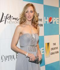 Kim Raver at the Creative Coalition's 2009 Inaugural Ball.