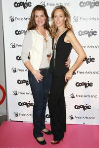 Brooke Shields and Kim Raver at the first Annual Kidsfest event.