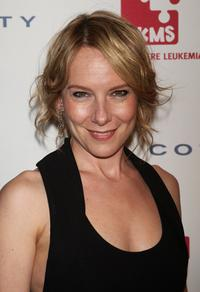 Amy Ryan at the DKMS 2nd Annual Linked Against Leukemia Gala.