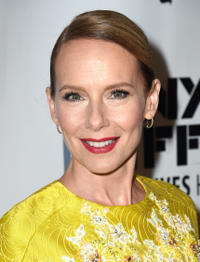 Amy Ryan at the premiere of