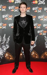 David Tennant at the Brit Awards 2008.