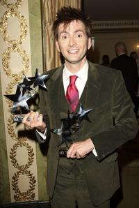 David Tennant at the 2007 TV Quick and TV Choice Awards.