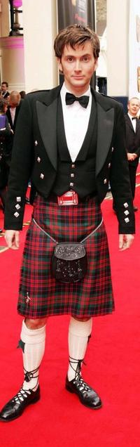 David Tennant at the Pioneer British Academy Television Awards.