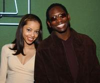 Guy Torry and his fiancee Monica at the American Music Award after party.