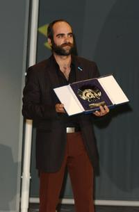 Luis Tosar at the 51st San Sebastian International Film Festival.